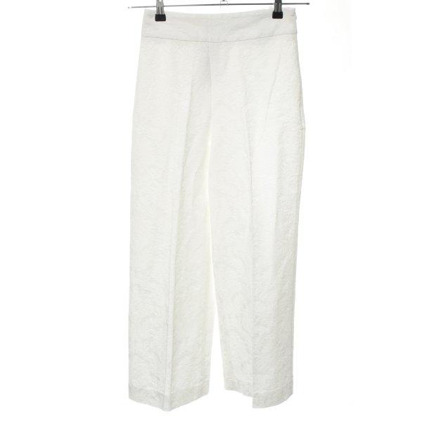 Zara Basic Culottes weiß Business-Look