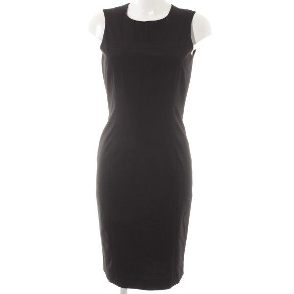 Zara Basic Etuikleid schwarz Elegant