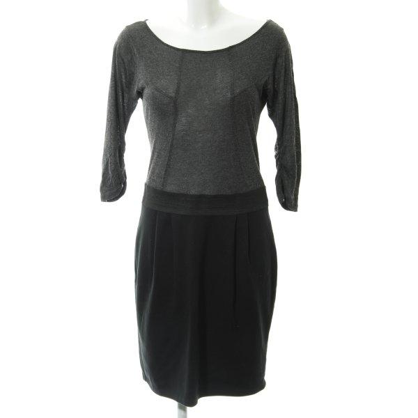 Zara Basic Langarmkleid meliert Casual-Look