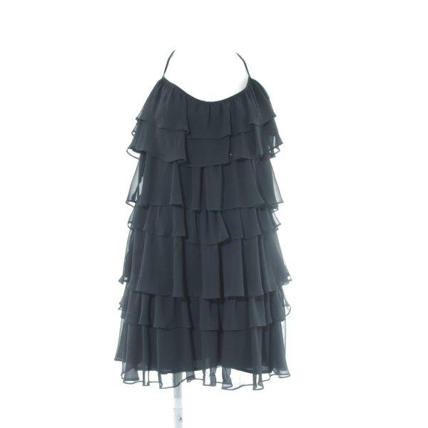 Zara Basic Minikleid schwarz klassischer Stil