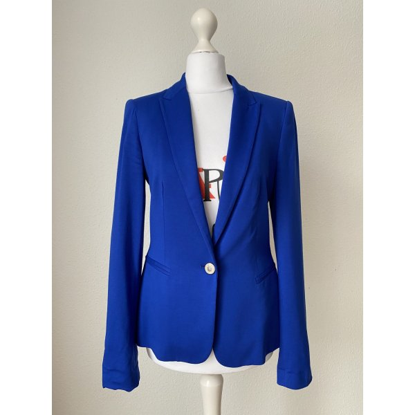 Zara Blazer Gr S blau Jacke Damen