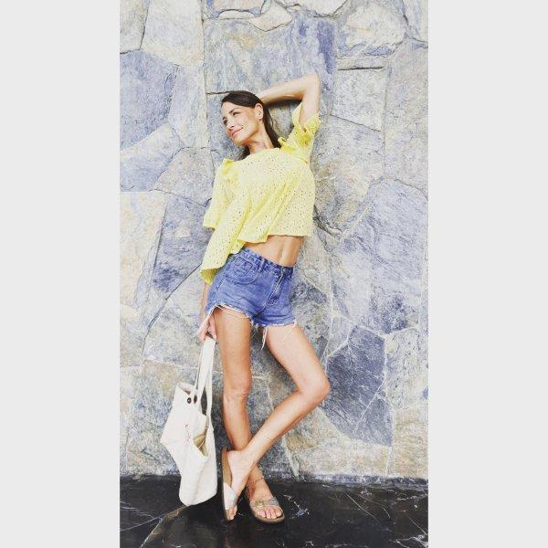 Zara Bluse aus eyelet Lochspitze mit Volants sommer Hemd Boho Bohemian