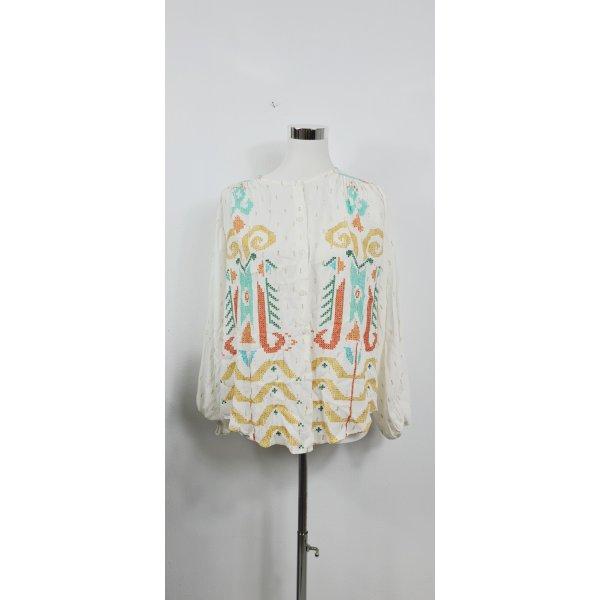 Zara/ Bluse / Größe  S/ Weiß mit Stickerei