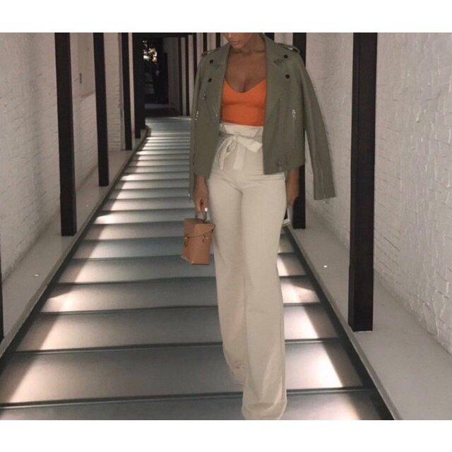 Zara Body Top Cami Bodysuit Lace Up Bralette