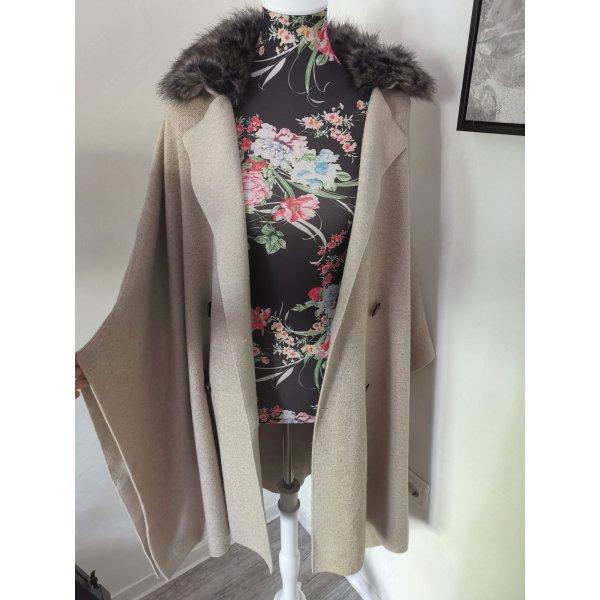 Zara Cape Poncho Jacke Strickmantel Gr S wie Neu überall Ausverkauft