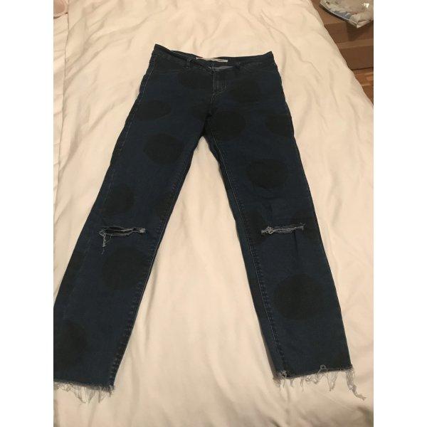 ZARA Capri Jeans