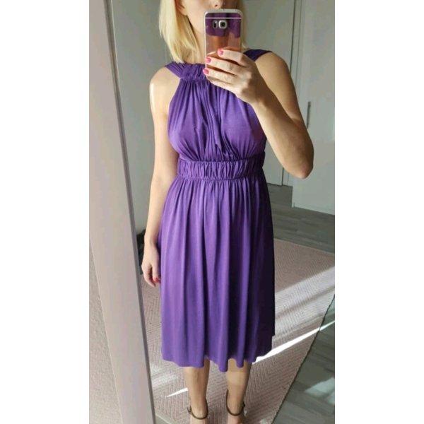 Zara Cocktailkleid lila S Rückenausschnitt top