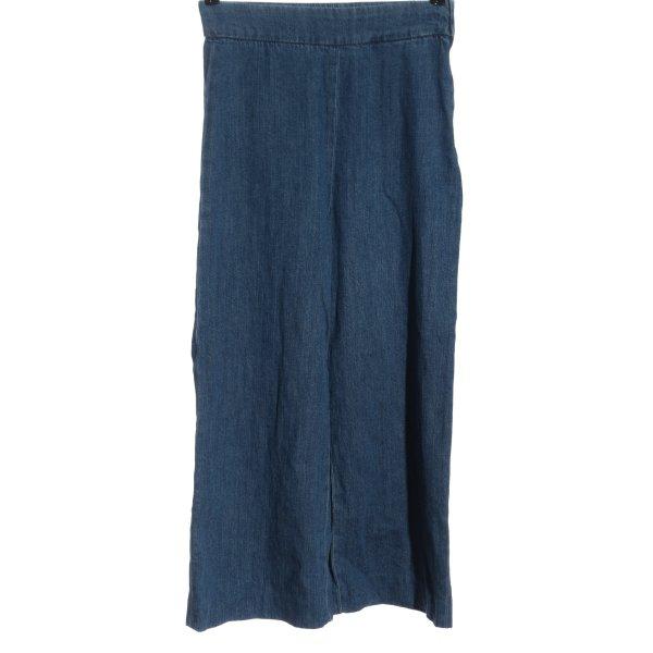 Zara Culottes blau Casual-Look