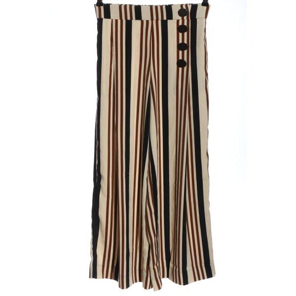 Zara Culottes Streifenmuster Elegant