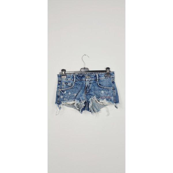Zara / Denim Destroyed Short/ Größe 38