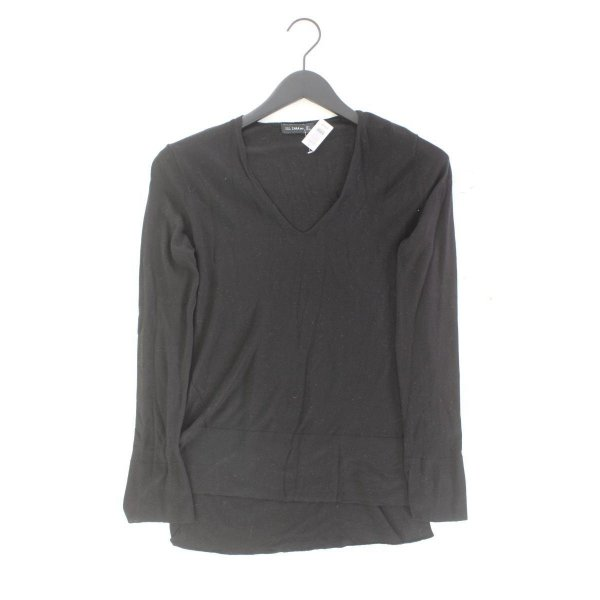 Zara Feinstrickpullover Größe S schwarz