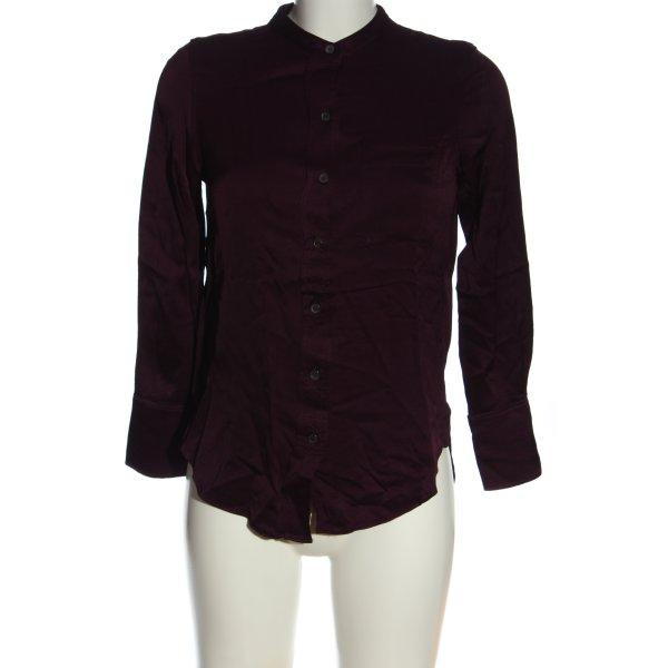 Zara Hemd-Bluse rot Business-Look