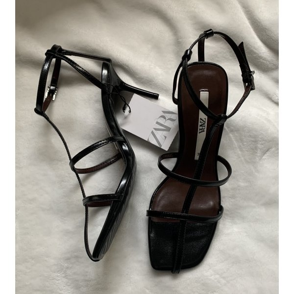 Zara High Heels schwarz 36 NEU