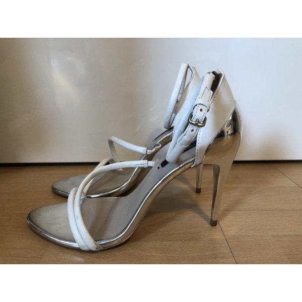Zara High Heels Verspiegelt