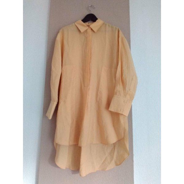 Zara Hübsches Hemdblusenkleid aus 85% Lyocell, Grösse S oversize, neu