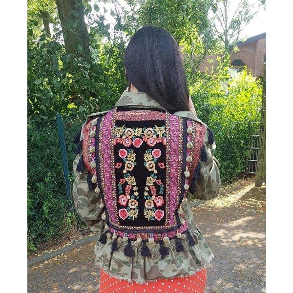 Zara Jacke Parka Blazer Army Style Militär Military boho blogger hipster boho