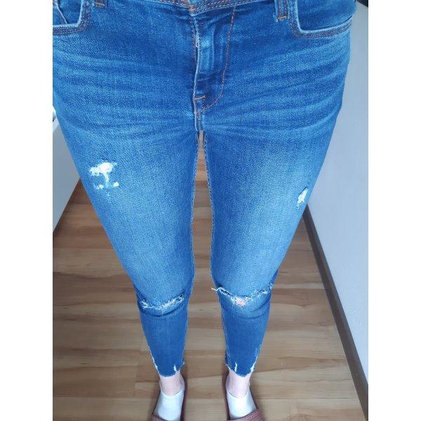 Zara Jeans / Basic Denim Jeans Damen