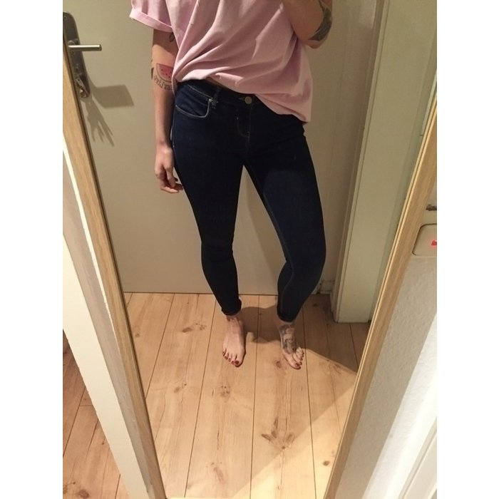 Zara Jeans Skinny Fit Röhre Denim Hose