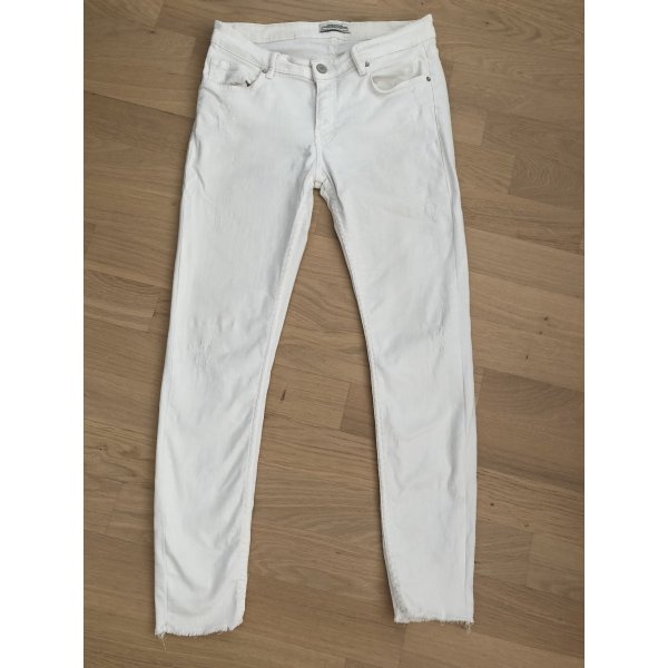 Zara Jeans weiß Größe 38