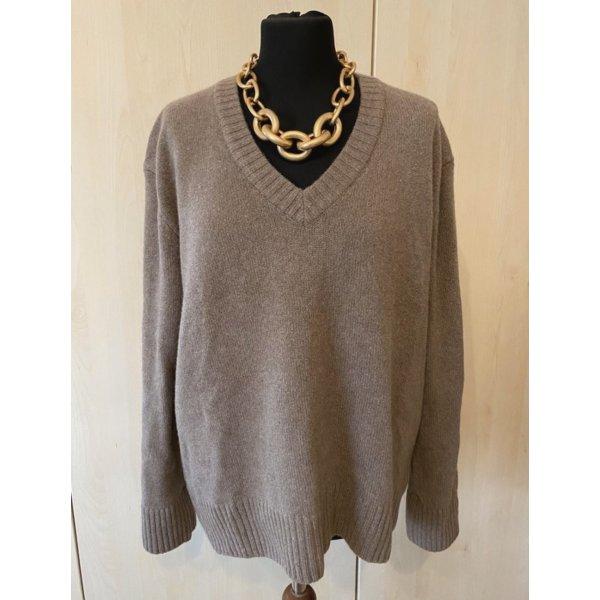 Zara Kaszmirowy sweter Wielokolorowy