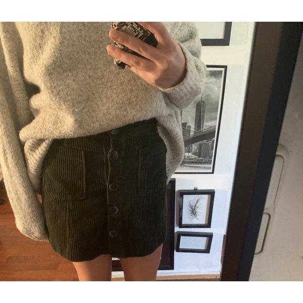 Zara khaki cord rock