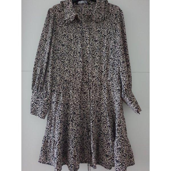 Zara Kleid Mini mit Blumenprint