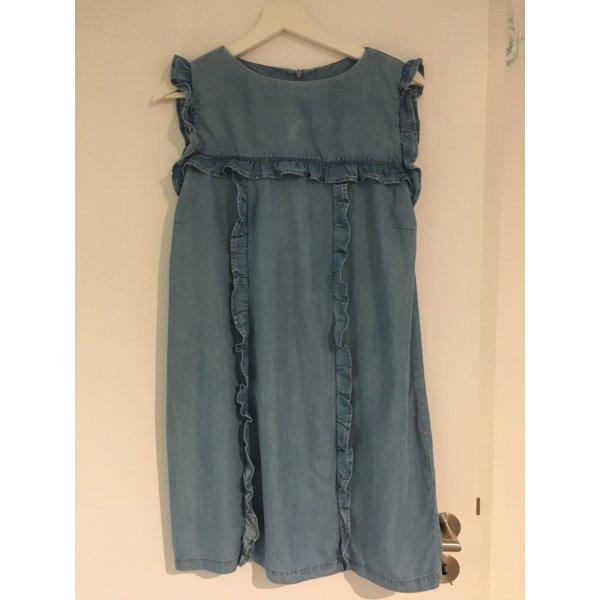 Zara Kleid mit Rüschendetails