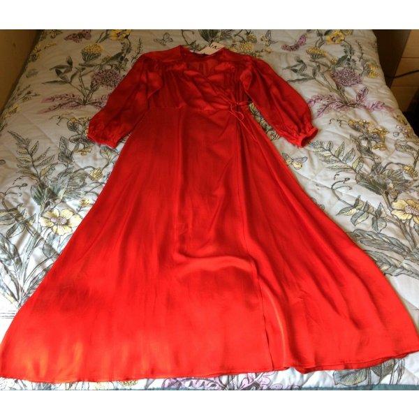 Zara Kleid rot Gr. S neu mit Etikett