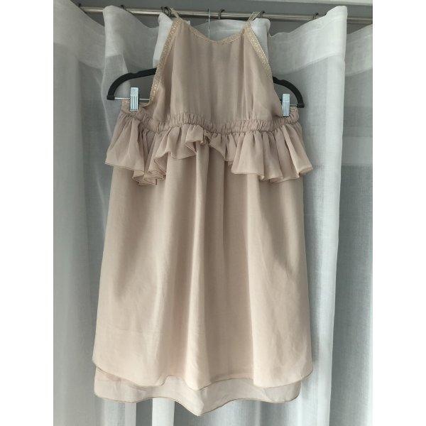 Zara Kleid Trf Sommerkleid kurzes Kleid rosa Minikleid Strandkleid Cocktailkleid Abendkleid