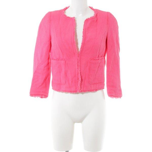 Zara Kurz-Blazer pink Casual-Look