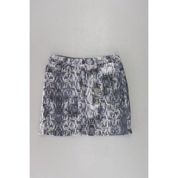 Zara Kurzer Rock Größe S grau aus Baumwolle