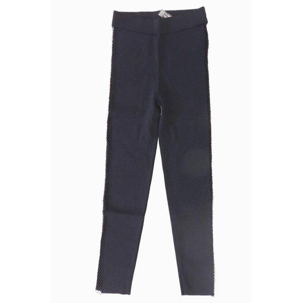 Zara Leggings Größe M schwarz aus Viskose