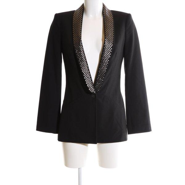 Zara Long-Blazer schwarz Elegant