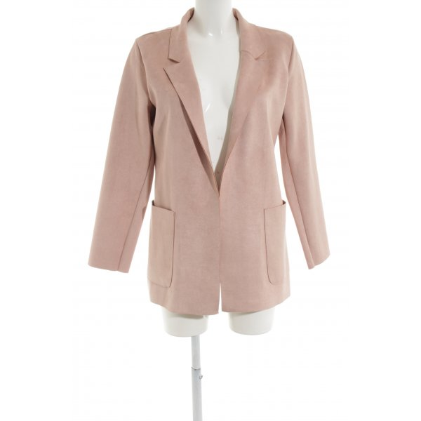 Zara Long-Blazer altrosa Business-Look