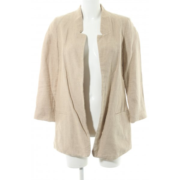 Zara Long-Blazer sandbraun Casual-Look