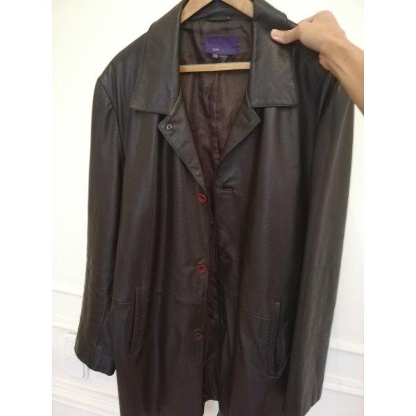 Zara Men Full Leather Coat