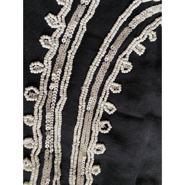 Zara Mini Kleid Schulter frei mit Perlen