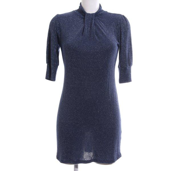 Zara Minikleid blau Elegant