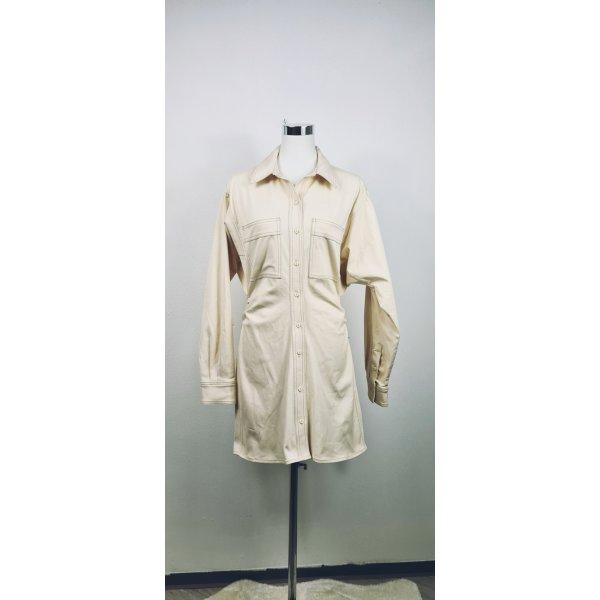 Zara / Minikleid/ Größe L/ Beige