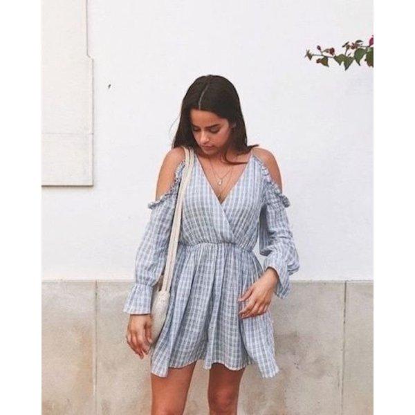Zara Overall Kleid Blogger