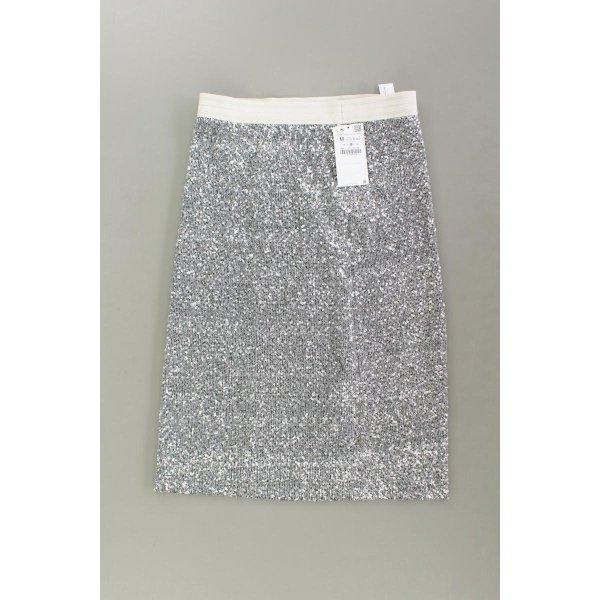 Zara Paillettenrock neu mit Etikett Größe M mit Glitzer mit Pailletten silber
