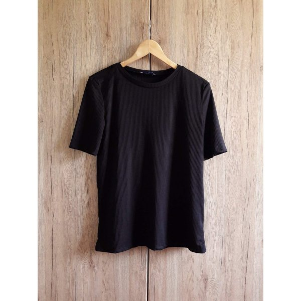 Zara Shirt schwarz Gr. S