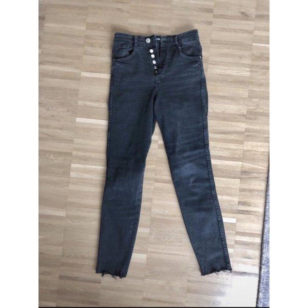 Zara Skinny Jeans 34 XS Schwarz