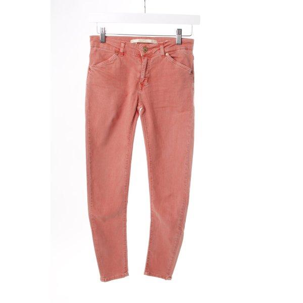Zara Skinny Jeans lachsfarben