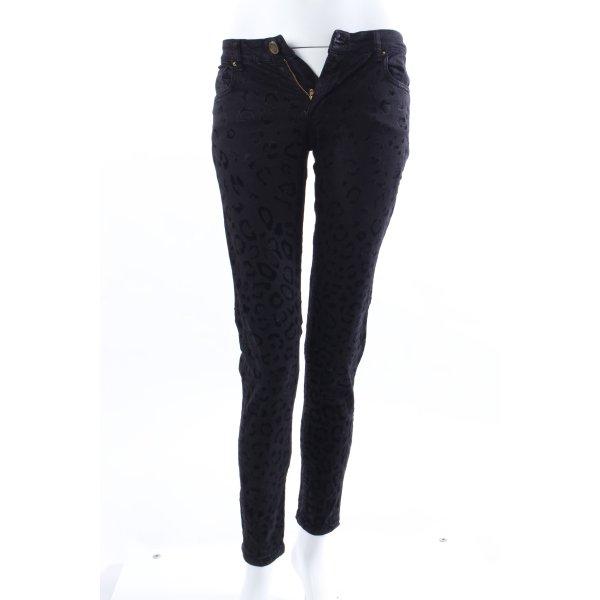 Zara Skinny jeans Samtmuster