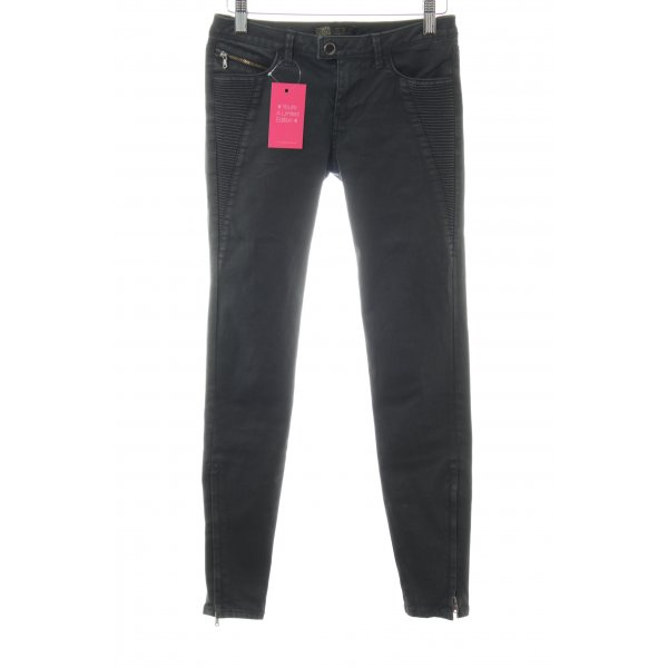 Zara Skinny Jeans schwarz Casual-Look