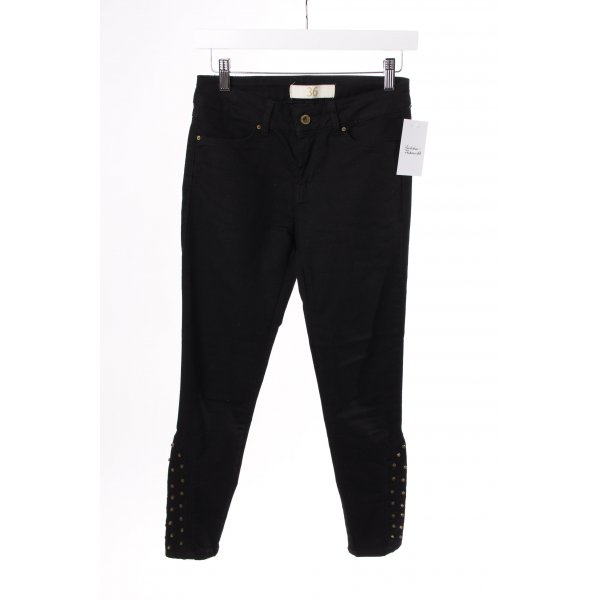 Zara Skinny Jeans schwarz mit Nieten