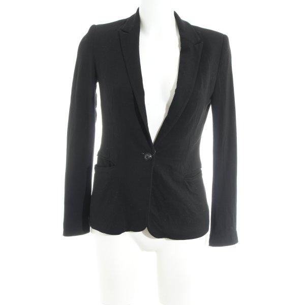 Zara Smoking-Blazer schwarz Business-Look