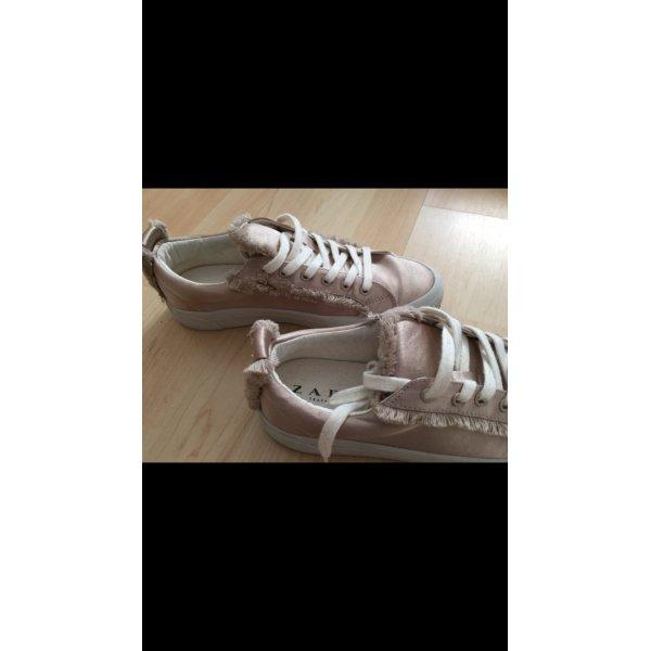 Zara Sneaker Roségold - Kupfer