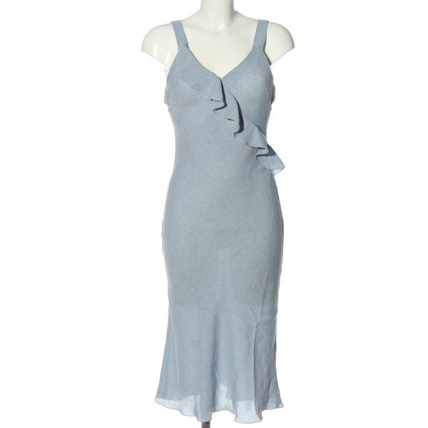Zara Sommerkleid blau Casual-Look